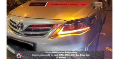 MXSHL35 Toyota Corolla Altis Projector Headlights Day Running Light