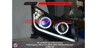 MXSHL61 Chevrolet Cruze Dual Projectors Headlights Day Running Light