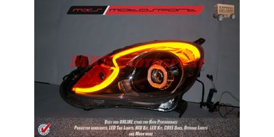 MXS1952 Honda Mobilio Headlights audi style Day running light