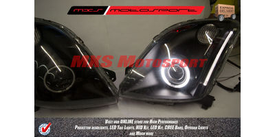 MXSHL219 Projector Headlights Maruti Swift & Dzire Old Type I