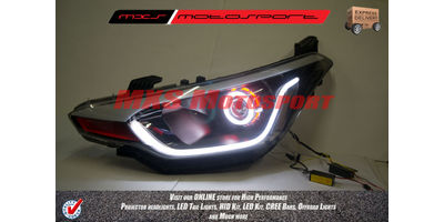 MXSHL218 Projector Headlights Hyundai i20 Elite