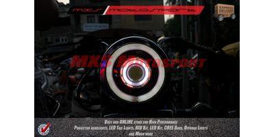 MXSHL112 Royal Enfield Bullet STANDARD 350-500 Headlight Projector-Day Running Light