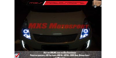 MXSHL152 Square Eye Projector Headlight Maruti Suzuki Swift & Dzire