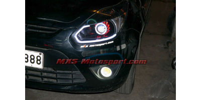 MXSHL18  Projector Headlights For Ford Figo with Audi Style DRL's