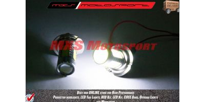 MXS2188 White H7 LED fog lamps HID Type Headlamp Bulb For Cars (Pair)