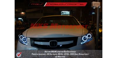 MXSHL38 Honda Accord Projector Headlights Day Running Light
