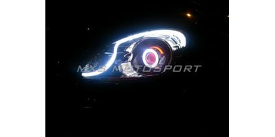 MXS1899 Audi-Style White-Amber DRL Daytime Running Light for Honda Amaze