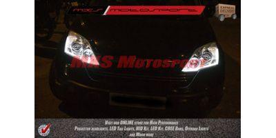 MXS1895 Audi-Style White-Amber DRL Daytime Running Light for Honda CR-V