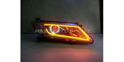 MXS1891 Audi-Style White-Amber DRL Daytime Running Light for Honda City New