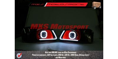 MXSHL23 Square Projector Headlight With DRL System Hyundai Accent