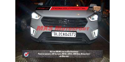 MXS2300 LED Fog Lamps Day Time running Light Hyundai Creta