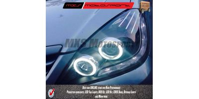 MXSHL66 Toyota Innova Projector Headlights Audi style Day running light old Model