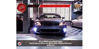 MXS Motosport Volkswagen Jetta Fog Lamp XENON HID KIT with 6 Months* Warranty