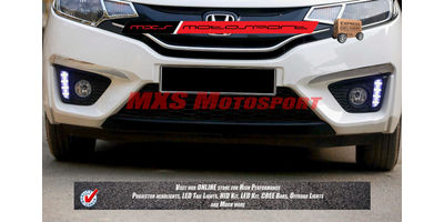 MXS2302 LED Fog Lamps Day Time Running Light Honda Jazz New Version