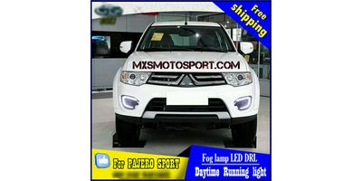 MXS2394 LED Fog Lamps Day Time Running Light Mitsubishi Pajero Sport New Version