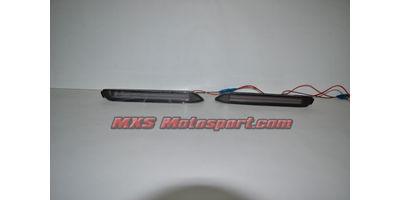 MXSTL90 Rear Bumper Reflector DRL LED Tail Lights Toyota Innova 'Smoked Black'