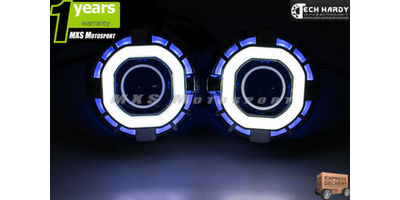 MXS851 Chevrolet Beat Headlight HID BI-XENON Robotic Eye Projector