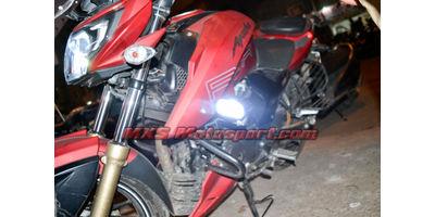 MXSORL129 Cree Led 4D Off Road Lights TVS Apache RTR 200