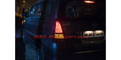 MXSTL93 LED Tail Lights Toyota Innova New Version Smoked Black
