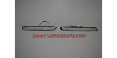 MXSTL89 Rear Bumper Reflector DRL LED Tail Lights Toyota Innova 'White'