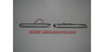MXSTL89 Rear Bumper Reflector DRL LED Tail Lights Toyota Innova 'White'