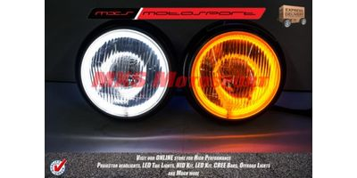 MXSHL17 Motosport Mahindra Thar Headlights Day running light, turn signal indicator