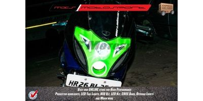 MXSHL137 Bajaj Pulsar 220 Projector Headlight HFX Day running light DRL