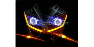 MXSHL134 Yamaha R15 Headlights Bi Xenon projector, HID & Day running light