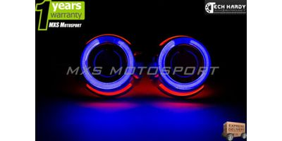 Mahindra  Scorpio Headlights HID BI-XENON Projector Ballast Shark & Angel Eye