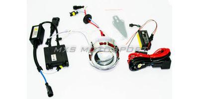 Mahindra Scooter Kine HID BI-XENON Projector Blaster Robotic Angel Eye Kit