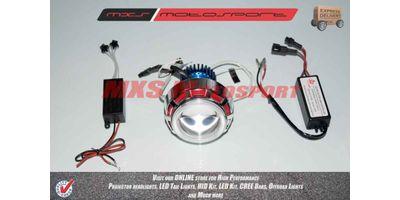 Bajaj Discover 100 T Robotic XFR CREE Projector Headlamps