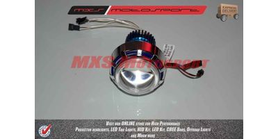 Suzuki GS150R Robotic XFR CREE Projector Headlamps