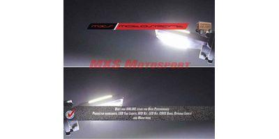 Tech Hardy T10 COB LED Lamps White CANBUS Parking Bulbs For Suzuki Gixxer
