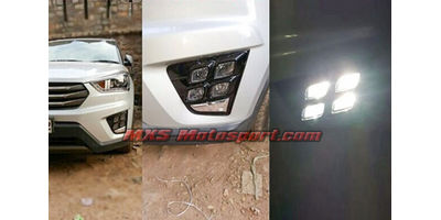 MXS2207 LED Fog Lamps Daytime running Light for Hyundai Creta 2015