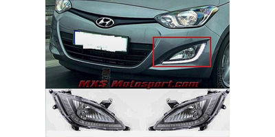 MXS2331 LED Fog Lamps Day Time running Light Hyundai i20