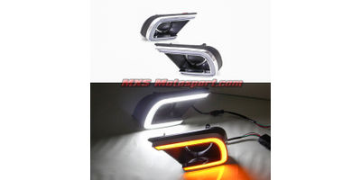 MXS2353 LED Fog Lamps Day Time Running Light Toyota Innova 2013