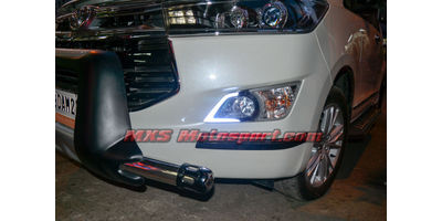 MXS2383 LED Fog Lamps Day Time Running Lights Toyota Innova Crysta