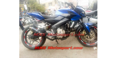 MXS2389 Tech Hardy Racing Exhaust  Silencer Bajaj Pulsar 200 ns