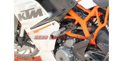 MXS2420 Frame Sliders Crash Guard KTM RC 200/RC 390