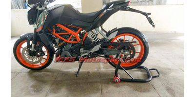 MXS2422 Paddock Stand with Swingarm Mounts KTM Duke 200/390