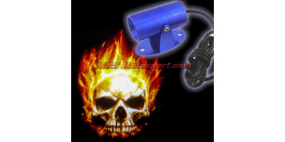 MXS2427 Skull Logo Projector LED Light Shadow Laser Light Ghost Rider Motorcycle