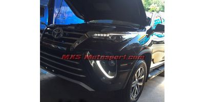 MXS2478 LED Fog Lamps Day Time Running Lights Toyota Fortuner New Version 2017
