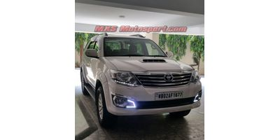 MXS2497 LED Fog Lamps Day Time running Light Toyota Fortuner