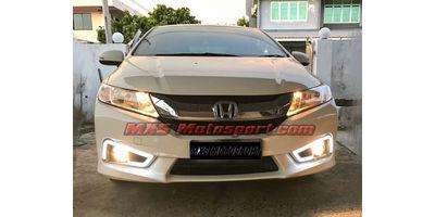 MXS2502 LED Fog Lamps Daytime Running Light Honda City i-Dtec