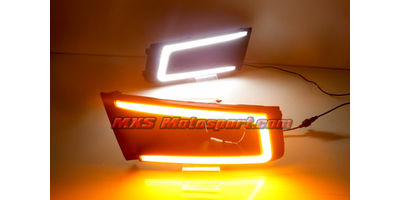 MXS2518 LED Fog Lamps Day Time Running Lights Maruti Vitara Brezza
