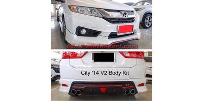 MXS2525 Racing Body Kit Honda City 2014+