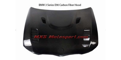 MXS2531 BMW 3 Series E90 Carbon Fiber Bonnet Hood