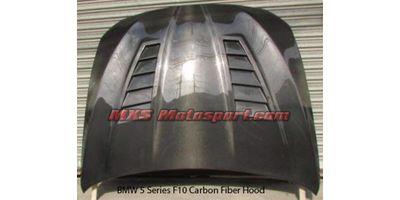 MXS2532 BMW 5 Series F10 Carbon Fiber Bonnet Hood