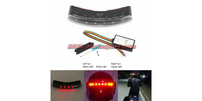 MXS2545 Helmet Led Brake and turn light  Wireless Rechargeable