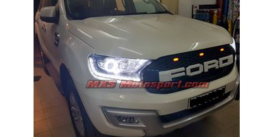 MXS2551 Raptor Style Front Led  Grill Ford Endeavour Everest 2015+